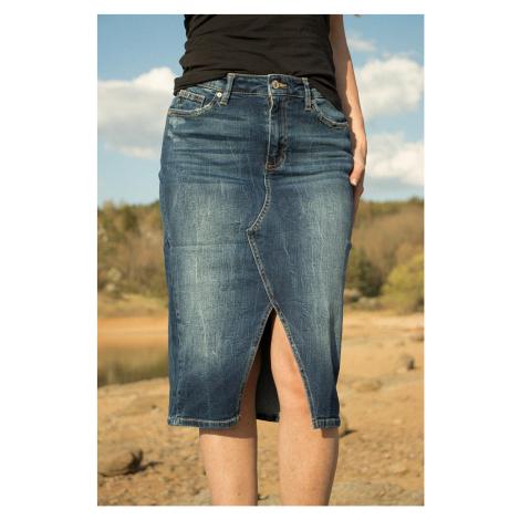 KanCan USA KanCan dámská džínová sukně KC7302M