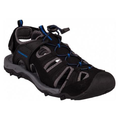 Crossroad MOHAN černá - Pánské sandály