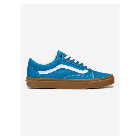 Boty Vans Ua Old Skool (Gum) Mediterrani Modrá