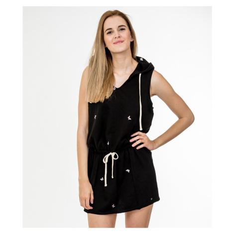 Černé mikinové šaty - JUICY COUTURE