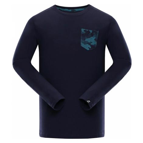 Pánské triko Alpine Pro ISMAT - tmavě modrá