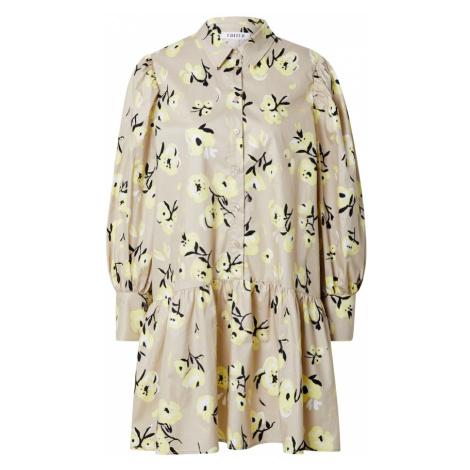 EDITED Košilové šaty 'Rylee' béžová