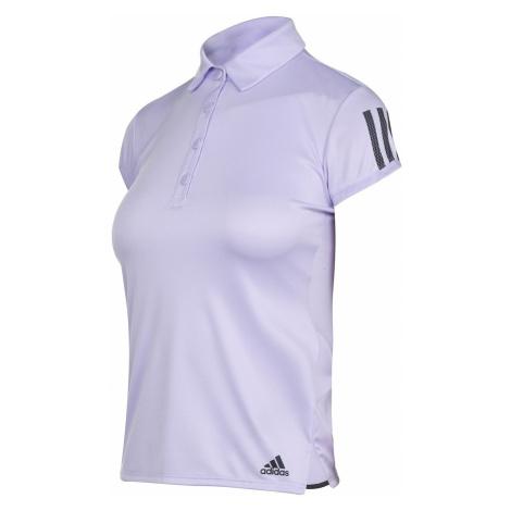 Adidas Womens Tennis Club 3-Stripes Polo Shirt