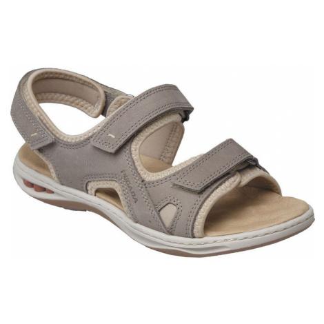 Pegada Dámská otevřená vycházková obuv Hnědá