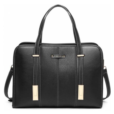Černá taška přes rameno Panel