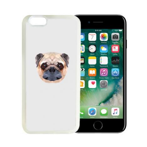 iPhone 7/8 kryt gumový soft Mopslík