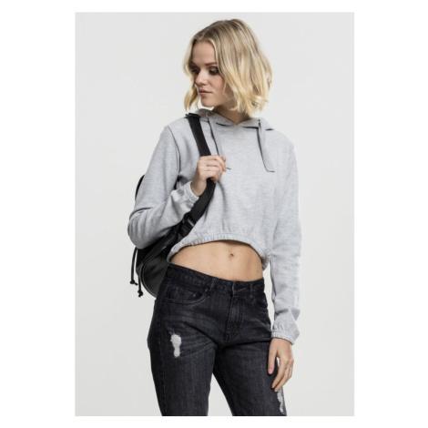 Ladies Interlock Short Hoody - grey Urban Classics
