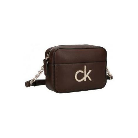Calvin Klein Calvin Klein hnědá kabelka CAMERA BAG W/PCKT