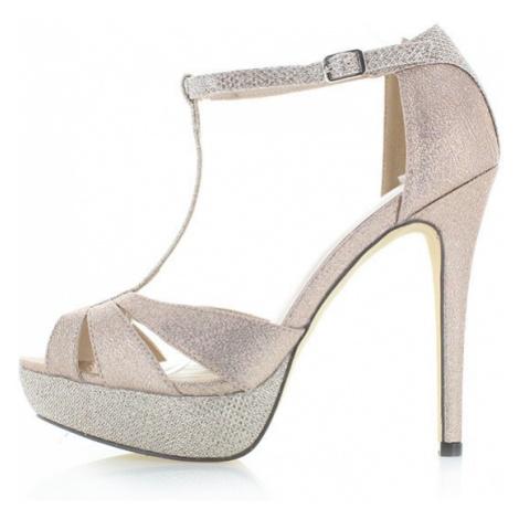 Zlaté sandály Menbur Arella
