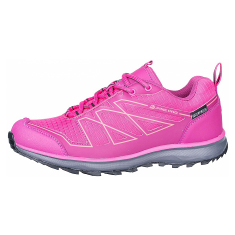 UNI sportovní obuv Alpine Pro ZAPALERI - růžová