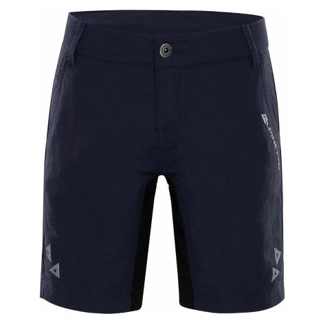 Dětské šortky Alpine Pro TRENTO - tmavě modrá
