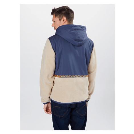 Iriedaily Přechodná bunda béžová / námořnická modř