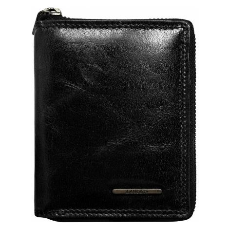 Men´s wallet for a man with a black zipper closure Fashionhunters