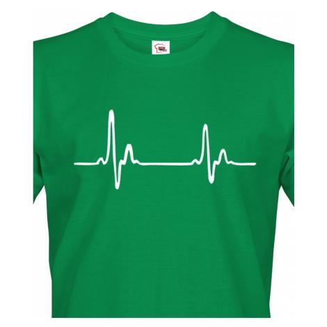 Pánské tričko pro doktory Pulz - ideální dárek k narozeninám nebo Vánocům BezvaTriko