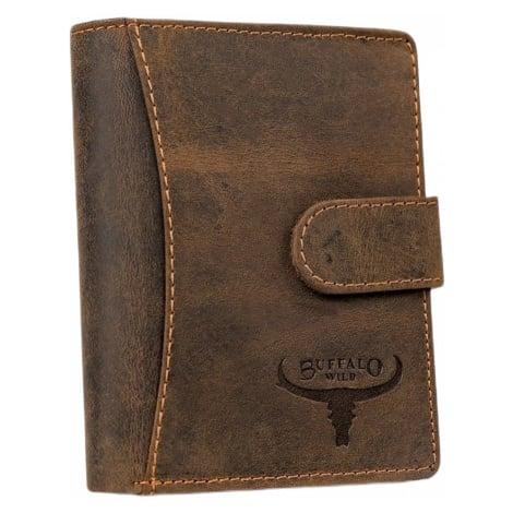 Buffalo wild hnědá pánská kožená peněženka