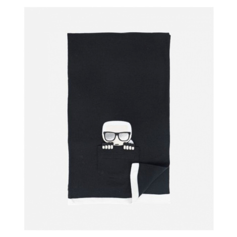 Šála Karl Lagerfeld K/Ikonik Pocket Knit Scarf