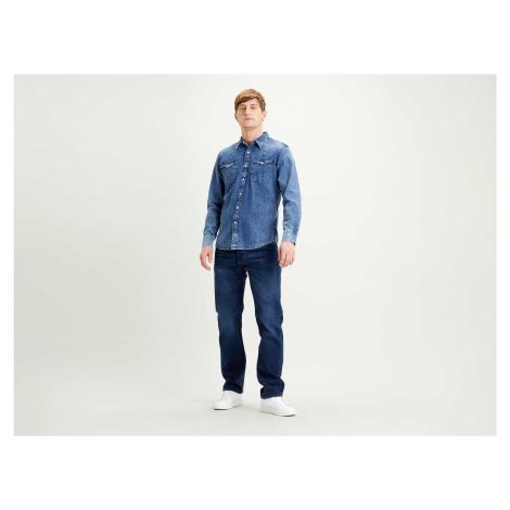 Košile Levi´s® Barstow Western pánská modrá