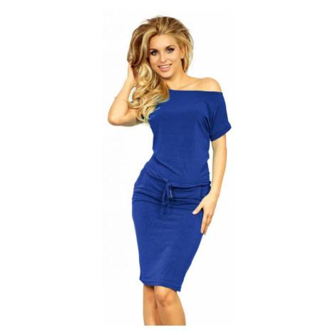 Dámské šaty Numoco 139-3   královská modrá