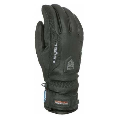 Level CAYENNE černá - Pánské kožené rukavice