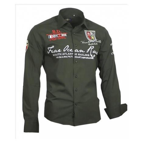 BINDER DE LUXE košile pánská 80504 s dlouhým rukávem