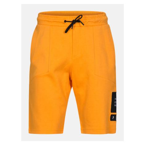 Šortky Peak Performance M Tech Shorts - Oranžová