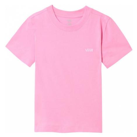 Vans WM JUNIOR V BOXY růžová - Dámské tričko