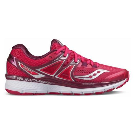 Dámská běžecká obuv Saucony Triumph ISO 3 Červená / Bílá