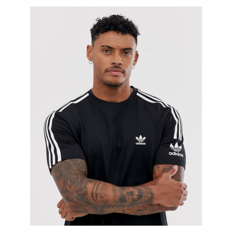 Adidas Originals lock up t-shirt in black