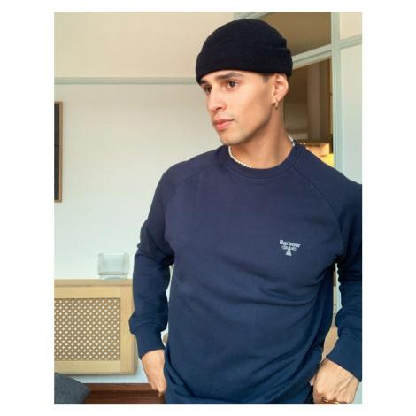 Barbour Beacon crew neck sweatshirt in navy