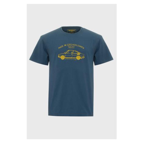 Modré tričko Bushman Bobstock modrá
