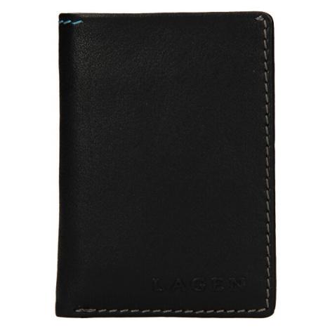 Lagen Pánská kožená peněženka tp-810 Black