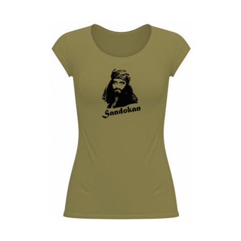Dámské tričko velký výstřih Sandokan