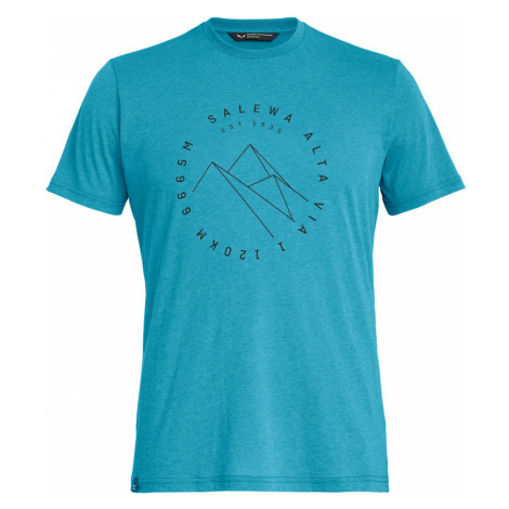 Pánské turistické tričko Salewa Alta Via Dry S/S T-Shirt