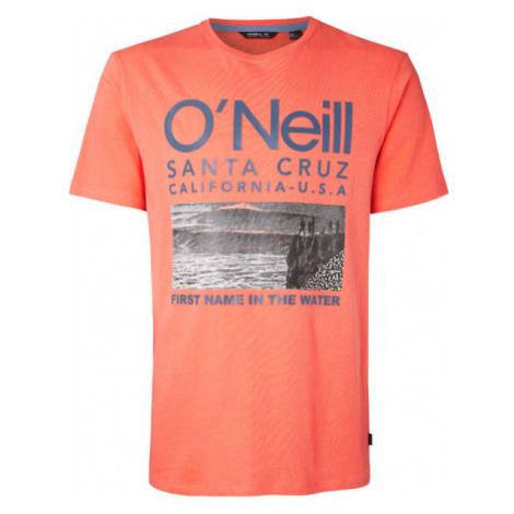 O'Neill LM SURF T-SHIRT oranžová - Pánské tričko