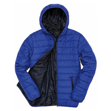Pánská polstrovaná bunda Result s kapucí