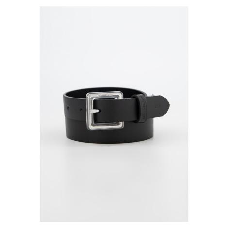 Calvin Klein Calvin Klein dámský černý opasek SQUARE BUCKLE BELT 24MM
