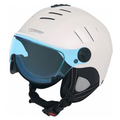 Mango VOLCANO VIP FOTOCHROMATIC bílá - Lyžařská helma