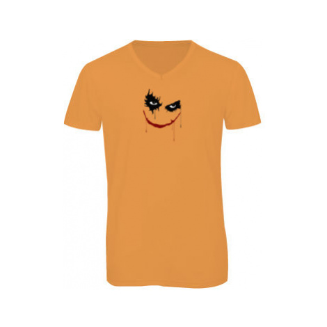 Pánské triko s výstřihem do V Joker