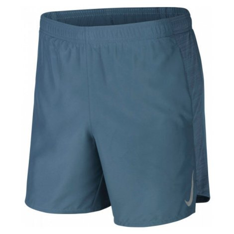 Nike CHLLGR SHORT 7IN BF modrá - Pánské běžecké kraťasy
