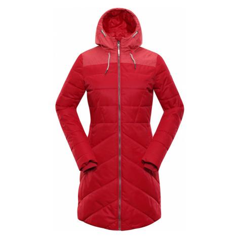 ALPINE PRO TESSA 3 Dámský zimní kabát LCTP098445 purpurová