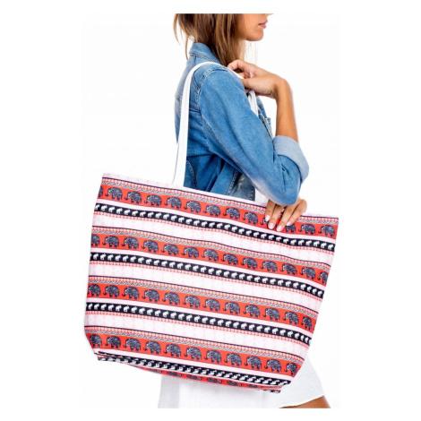 Nákupní -plážová taška s potiskem