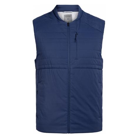 ICEBREAKER Mens Tropos Vest, ESTATE BLUE Icebreaker Merino