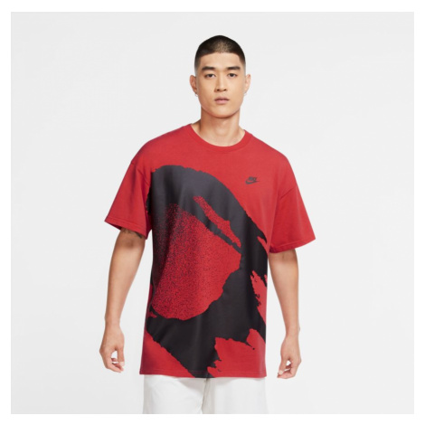 Pánské tričko Nike Court Challenger Fireball Red
