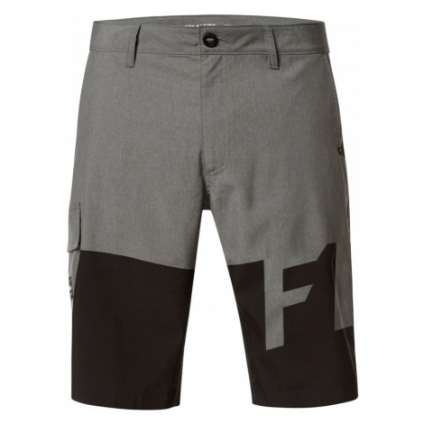 Koupací Kraťasy Fox Essex Tech Print Short heather graphite