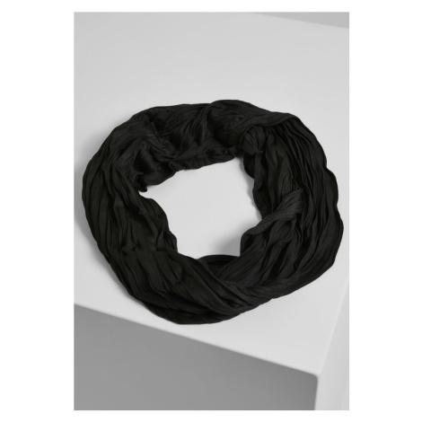 Wrinkle Loop Scarf - black Urban Classics