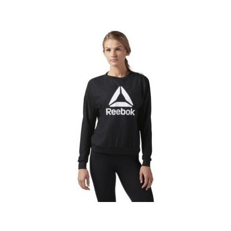 Reebok Sport Workout Ready Activchill Crew Neck Černá