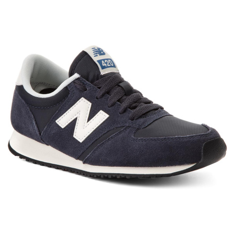 Sneakersy NEW BALANCE - U420NVB Tmavomodrá