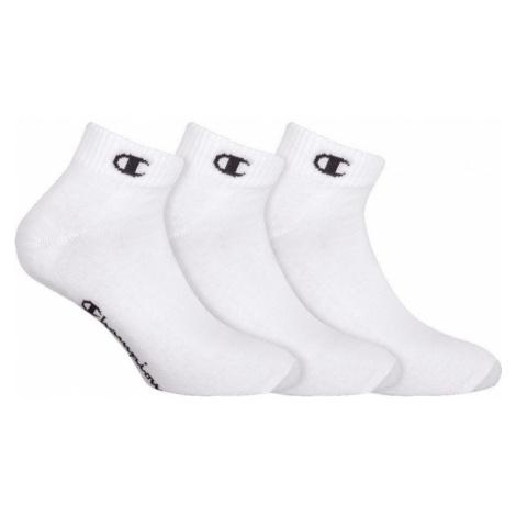 3PACK ponožky Champion bílé (Y08QH) L