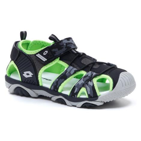 Lotto SUMATRA IV CL černá - Chlapecké sandály