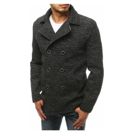 Pánský černý kabát (CX0415) BASIC